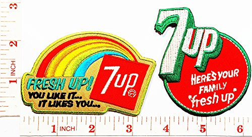 7up-soda-soft-drink-patch-jacket-polo-t-shirt-diy-applique-embroidered-sew-iron-on-patch-