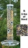 Droll Yankees B-7 Bird Feeder with Seed Tray & 5 lbs. Seed For Sale
