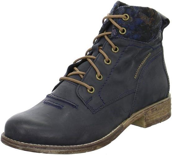 Josef Seibel Women Ankle Boots Blue, Ocean//Blau 99619MI001//205