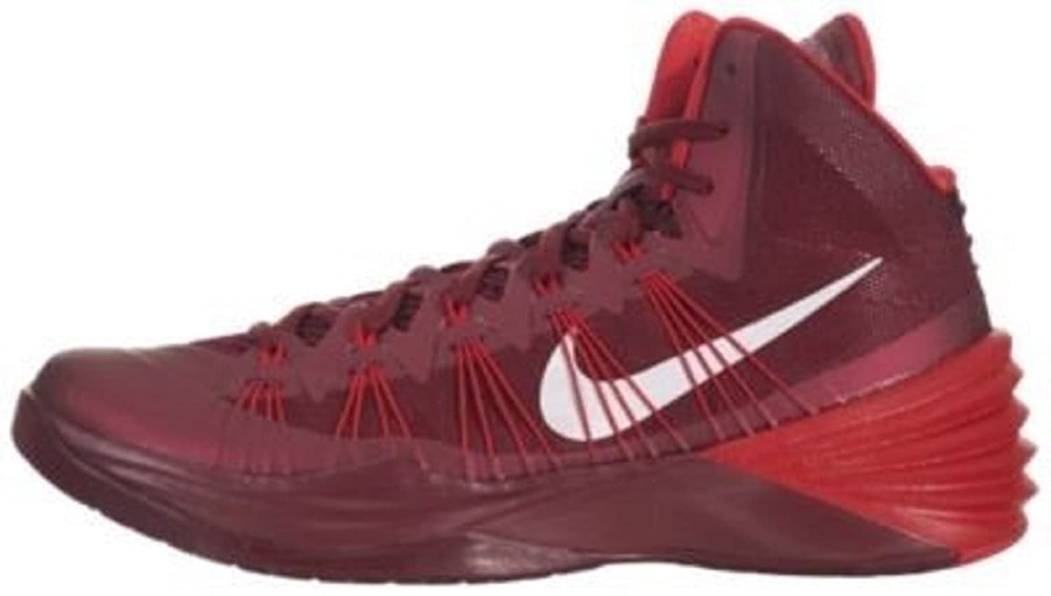 Amazon.com | Nike Hyperdunk 2013 TB Team Red/White/Maroon Basketball Men's  Shoes 584433 601 | Running