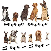 Cloudk 0031 Cute Dogs Animal Vinyl Wall Sticker...