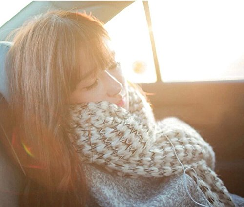 Generic Autumn and winter long section of the Beautiful couple warm wool scarves women girls lady Korean version of the new School of wind girlfriends thick scarves