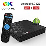 Android 9.0 TV Box - T95 MAX 2GB RAM 16GB ROM with H6