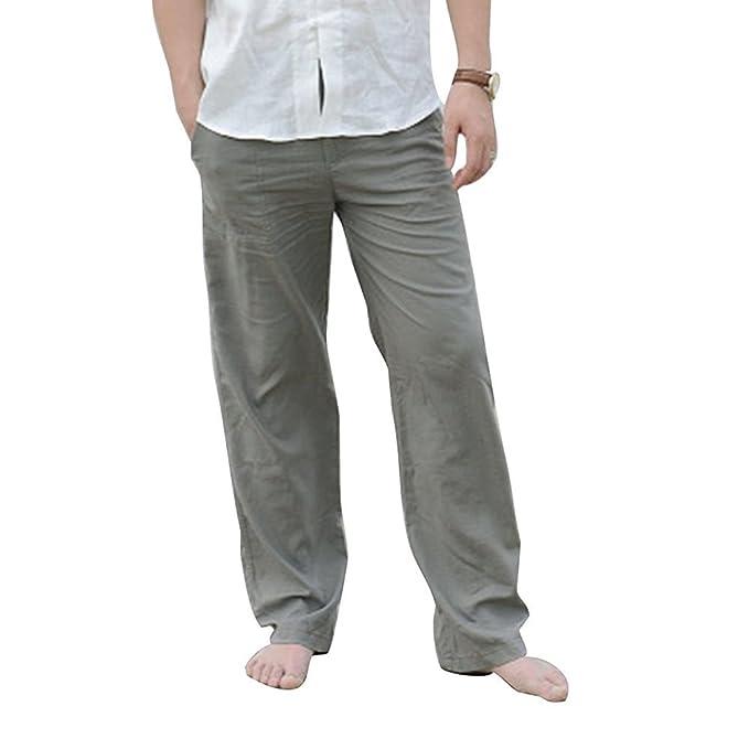 UK Women/'s Long Pants High Waist Casual Loose Button Summmer Trousers Size 10-18