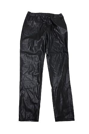 0a21aa5b87416c Image Unavailable. Image not available for. Color: Lauren Ralph Lauren  Womens Plus Alatea Faux Leather High Rise Leggings Black 18W