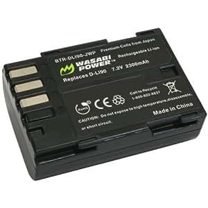Wasabi Power Battery for Pentax D-LI90 and Pentax 645D, 645Z, K-01, K-3, K-5, K-5 II, K-5 IIs, K-7