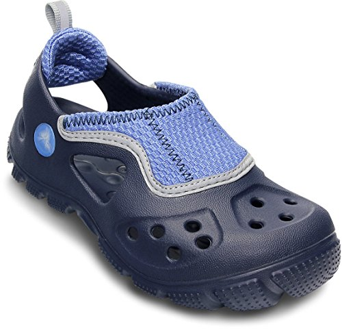 crocs 14304 Micah II C Sandal ,Navy/Sea Blue,12 M US Little