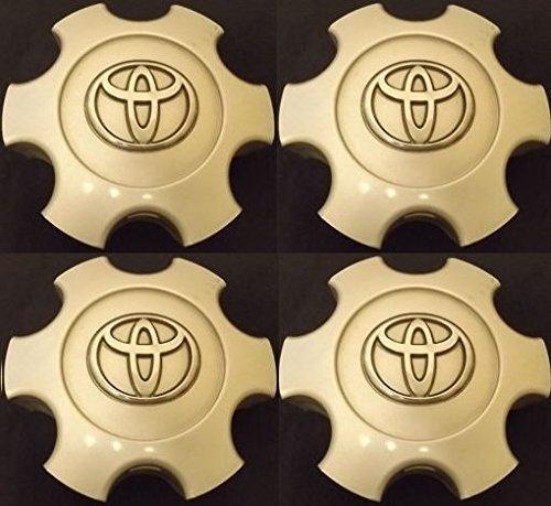 4 NEW REPLACEMENT 2003-2006 Toyota Tundra 03-07 Sequoia wheel center caps hubcaps SET 69940 Flat (Wheel Center Cap Hubcap)