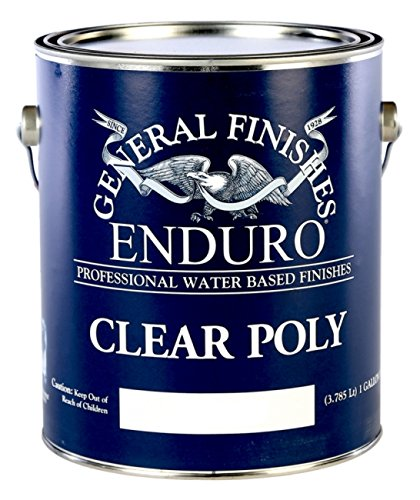 General Finishes Enduro Clear Poly Satin Gallon