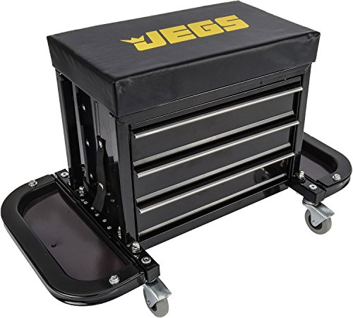 - JEGS Performance Products 81155 3 Drawer Tool Box Stool