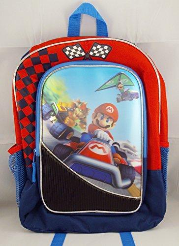 Mario Kart Bowser Luigi Backpack