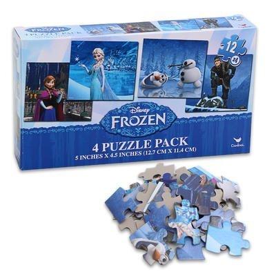 Disney Frozen Four Puzzle Pack