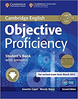 Objective Proficiency 2nd Students Book Pack Students Book with Answers with Downloadable Software and Class Audio CDs 2: Amazon.es: Capel, Annette, Sharp, Wendy: Libros en idiomas extranjeros