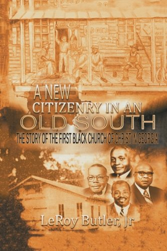 A New Citizenry in An Old South: The Story of the First for sale  Delivered anywhere in USA