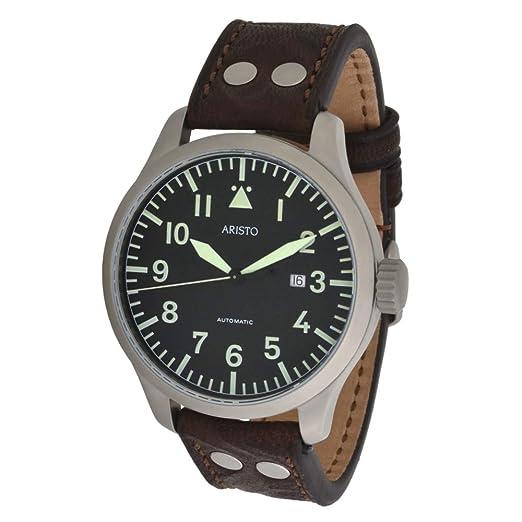 Aristo reloj piloto de observación automática Ø 47 mm: Amazon.es: Relojes