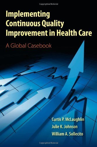 Implementing Continuous Quality Improvement In Health Care: A Global Casebook by McLaughlin, Curtis P., Johnson, Julie K., Sollecito, William (2011) Paperback