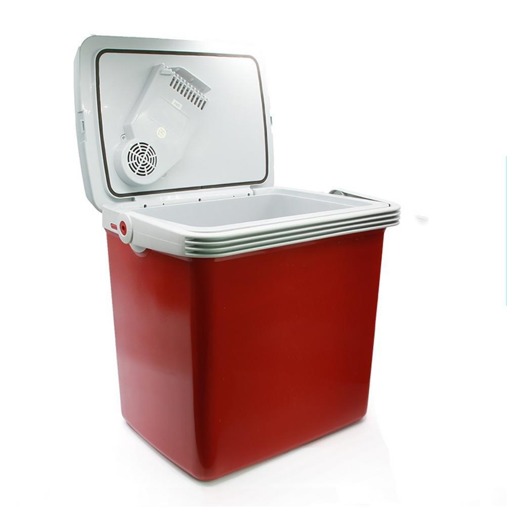Ruirui 25L Gran Capacidad portátil Coche Nevera congelador Mini para hogar, Oficina, Coche o Barco AC y DC, Red: Amazon.es: Hogar
