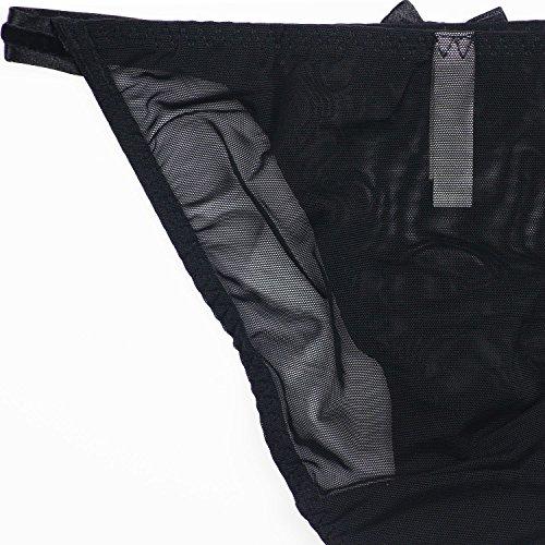 UzHot Ropa Interior Mujer UT6022 Negro