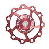 Lerway Aluminium Jockey Wheel Rear Derailleur Pulley SHIMANO SRAM 11T Red
