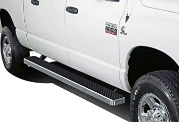 "4/"" iBoard Running Boards Nerf Bars Fit 02-08 Dodge Ram 1500//2500//3500 Quad Cab"