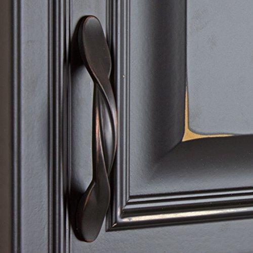 bronze dresser 87340 orb 10 gliderite 3 cc oil rubbed bronze dresser twist pull
