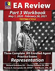 PassKey Learning Systems EA Review Part 3 Workbook: Three Complete IRS Enrolled Agent Practice Exams for Representation: (Ma