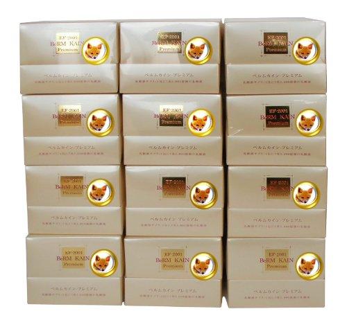 新世代乳酸菌 ベルムカイン プレミアム(35包+3包)x 12箱セット B00CDRQU8E