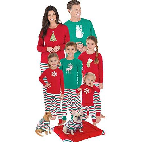 Christmas XMAS Nightwear, Sunfei Kids Baby Mother Father ...