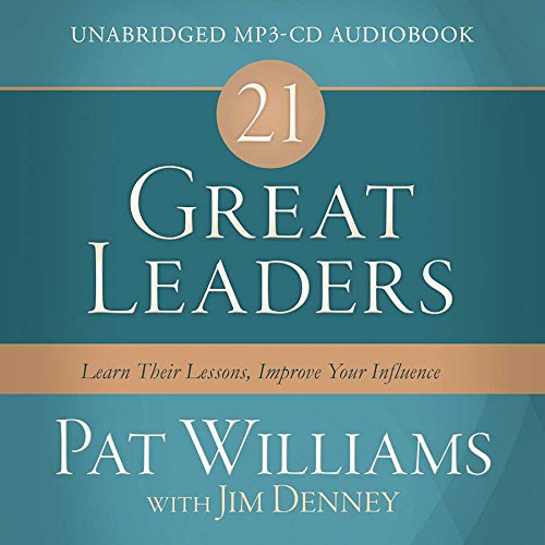 Download 21 Great Leaders Audio (CD): Learn Their Lessons, Improve Your Influence pdf