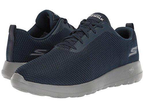[SKECHERS(スケッチャーズ)] メンズスニーカー?ランニングシューズ?靴 Go Walk Max - 54601 Navy/Gray 9.5 (27.5cm) EE - Wide