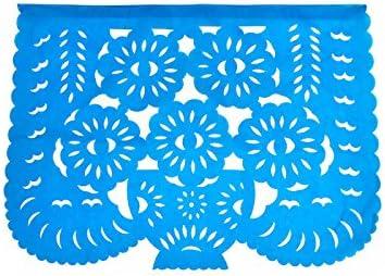 Carta Fantastik 5 metri modello classico Bandierine perforate messicane Papel picado messicano