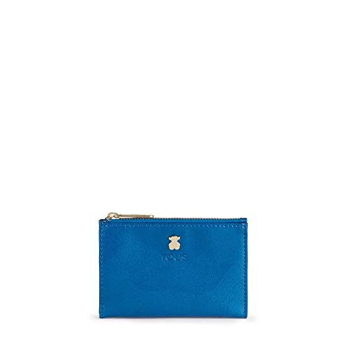 Tous Dorp - Monedero para Mujer, Azul, 11.5 x 8 x 1 cm ...