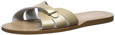 28ec26e0c78 Amazon.com | Salt Water Sandals Women's Classic Slide Flat Sandal ...