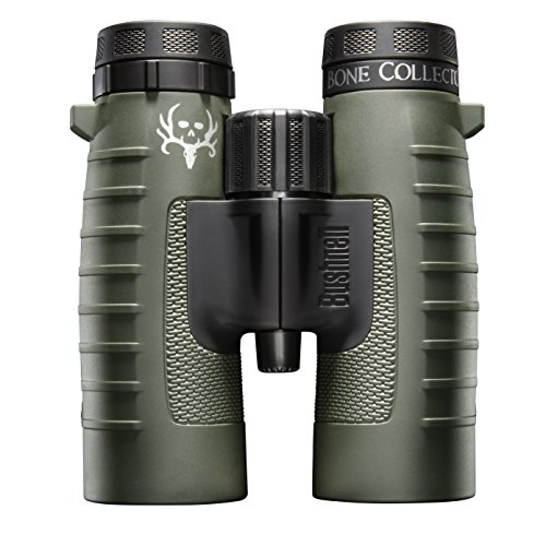 Bushnell Binocular Bundle Trophy XLT 10x42 Binoculars Bone Collector Edition  Deluxe Binocular Harness