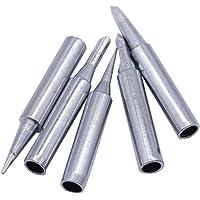 Fleymu Soldeerbout Tips 900M Soldeerbout Tips Vervanging Iron Tips Soldeer Rework Station Tool Kit voor solderen, heet…