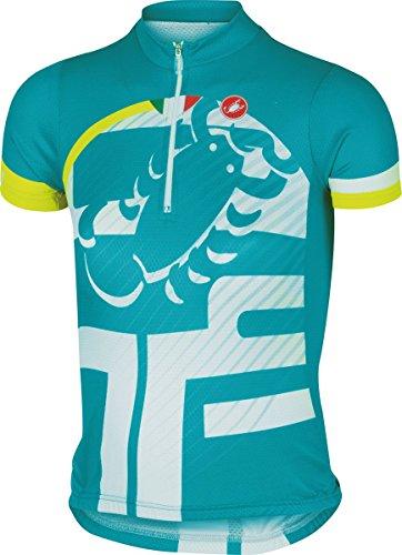 - Castelli 2015 Veleno Kid Children's/Youth Short Sleeve Cycling Jersey - A16063 (Caribbean - YM)