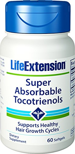 Life Extension - Super-Absorbable Tocotrienols - 60 Gels (Pack of 2)
