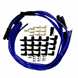 305 spark plug wires - 9.5 mm Blue Straight Spark Plug Wires Distributor HEI For Chevy BBC SBC SBF 302 350