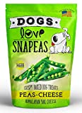 Dogs Love Snapeas Crunchy Dog Treats, Gluten And Wheat Free, Peas And Cheese Flavor, 2.5 Ounce Bag (Case Of 12) For Sale