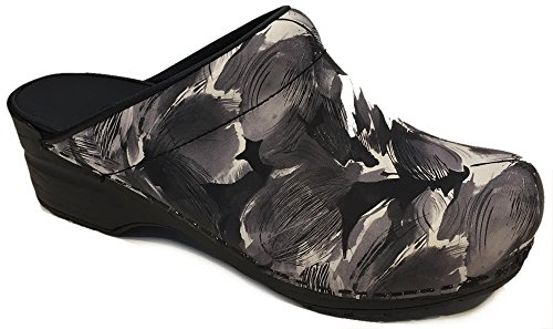 Sanita Isadora Open Clogs Patened Black