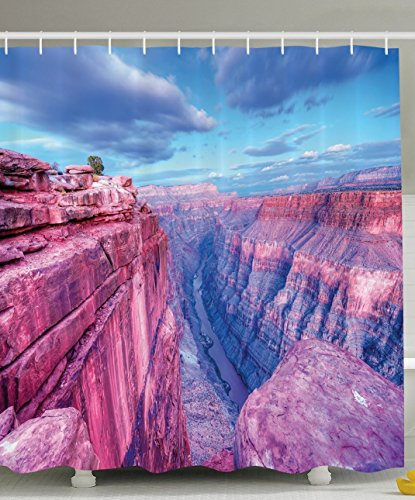 Ambesonne American Landscapes Decor Collection, Grand Canyon