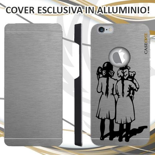 CUSTODIA COVER CASE LITTLE FRIENDS PER IPHONE 6 ALLUMINIO TRASPARENTE