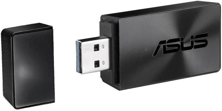 ASUS USB-AC54_B1 - Adaptador Wi-Fi USB 3.0 AC1300 (MU-MIMO, Soporta Windows, Mac y Ubuntu hasta Kernel 4.13)
