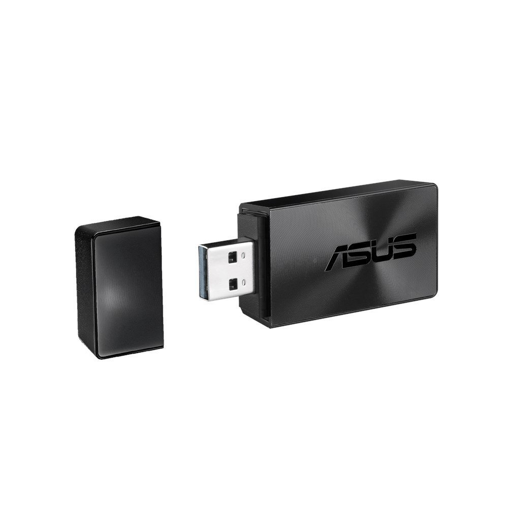 Asus USB-AC54_B1 WLAN 1300Mbit/s - Accesorio de Red (Inalá mbrico, USB, WLAN, IEEE 802.11ac, 1300 Mbit/s, Negro) Asus USB-AC54_B1 WLAN 1300Mbit/s - Accesorio de Red (Inalámbrico 90IG0410-BM0G10