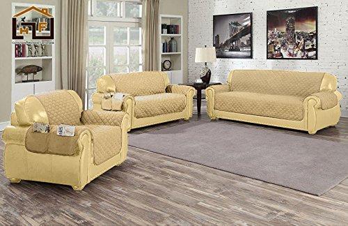 J/&J home fashion chair cover yellow