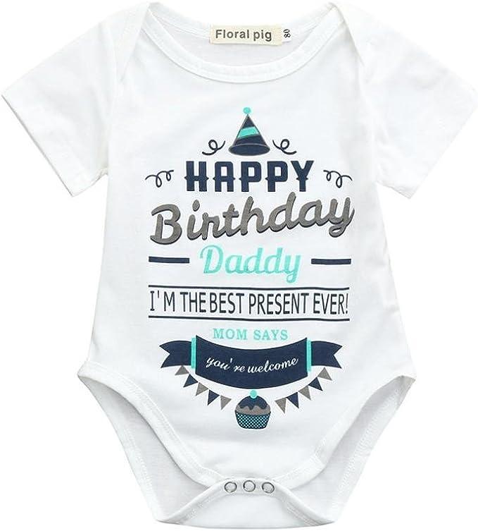 Amazon.com: STARON bebé recién nacido niños niñas Pelele ...