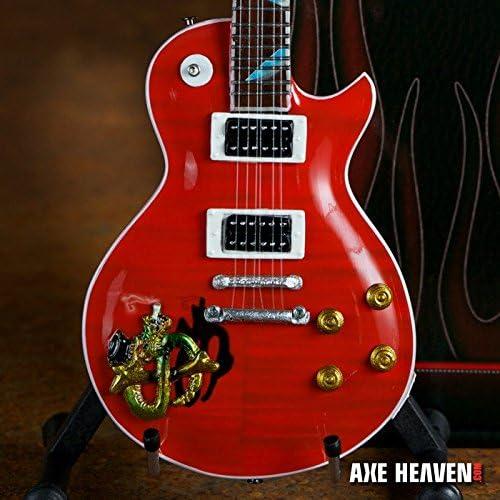 Hacha HEAVEN Slash firma rojo snakepit Gibson guitarra en ...