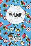 Vanuatu Travel Journal: 6x9 Travel planner I Road trip planner I Dot grid journal I Travel notebook I Travel diary I Pocket journal I Gift for Backpacker