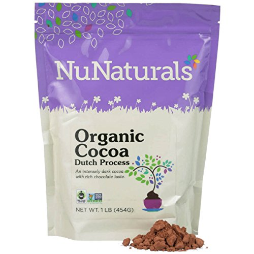 Organic Dutch Processed Cocoa Powder for Baking - Non GMO - Fair Trade 1lb ()