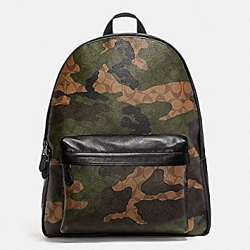 ed8add026 Amazon.com | COACH CHARLES BACKPACK IN ANIMATED SIGNATURE CAMO PRINT COATED  CANVAS F59914 | Casual Daypacks